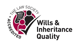 Accredited for Wills & Inheritance Quality by The Law Society